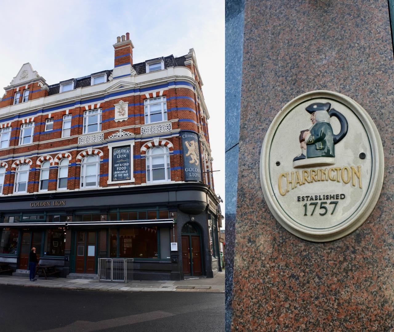 リノベーションがすっかり完了し、ハンサムな外観に♪ 建物自体は1757年からあるようです。
