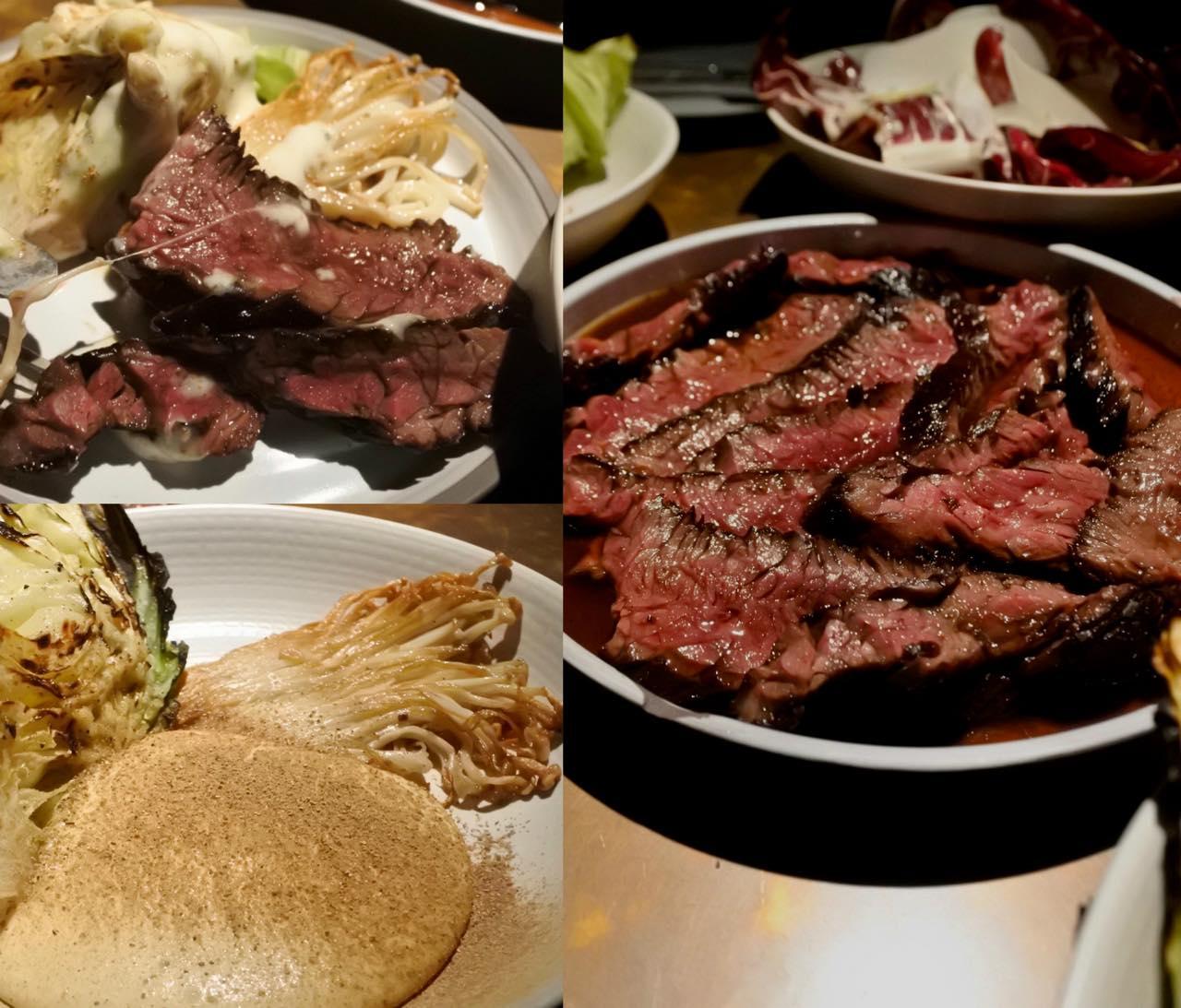 上質のお肉を丁寧に調理。付け合わせに惚れた!
