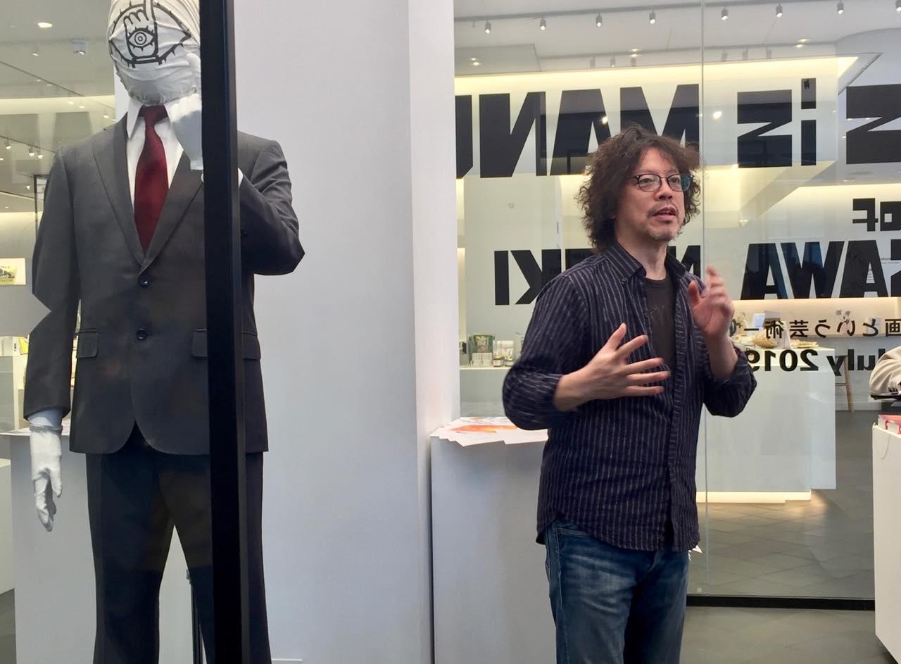 浦沢直樹さん自らのトークで案内していただいたプレス・デー。ラッキー♡